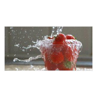 Strawberry Splash Photocard Photo Cards