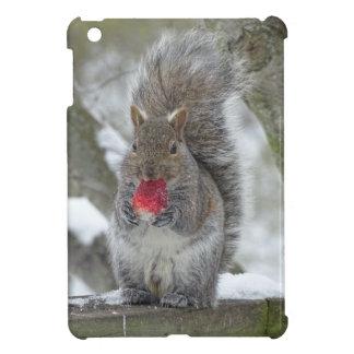 Strawberry squirrel cover for the iPad mini