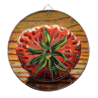 Strawberry Star Dartboard
