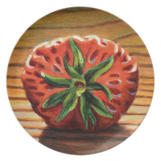 Strawberry Star Plate