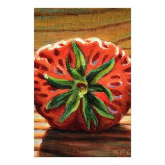 Strawberry Star Stationery