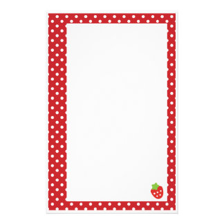 Strawberry Stationery