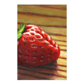 Strawberry Stripe Stationery
