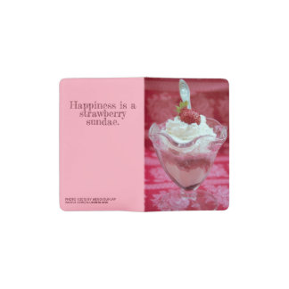 Strawberry Sundae MOLESKINE® Notebook Cover