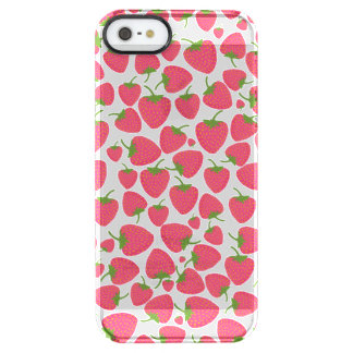 Strawberry Sweet Minis Clear iPhone SE/5/5s Case