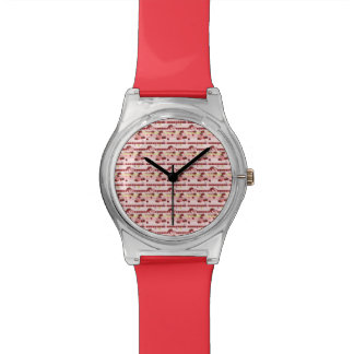 Strawberry Sweet Treats Pattern Watch