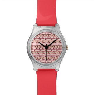 Strawberry Sweet Treats Pattern Wristwatches