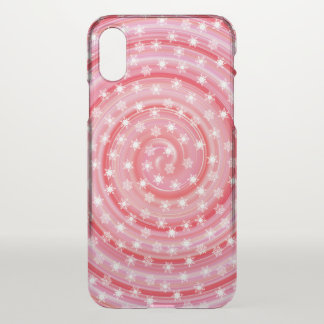 Strawberry Swirl Snowflakes Christmas | Phone Case