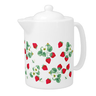 Strawberry Teapot