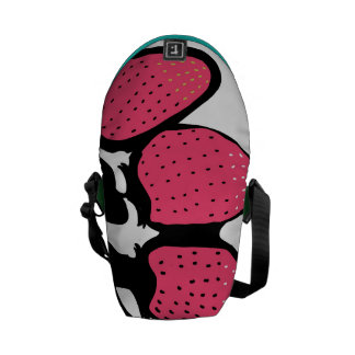 Strawberry Treat Pouch Courier Bags