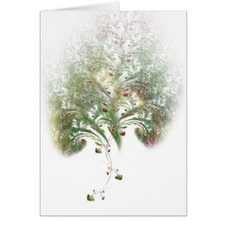 Strawberry Tree Valentine Fractal Card