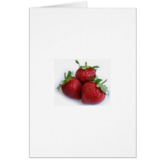 Strawberry Trio Card
