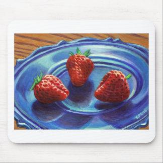 Strawberry Trio Mouse Pad