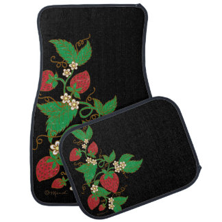 Strawberry Vine Car Matts Car Mat