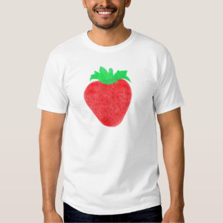 Strawberry Vintage Look T-shirt