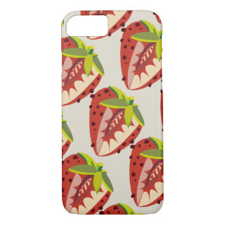 Strawberry vintage pattern iPhone 8/7 case