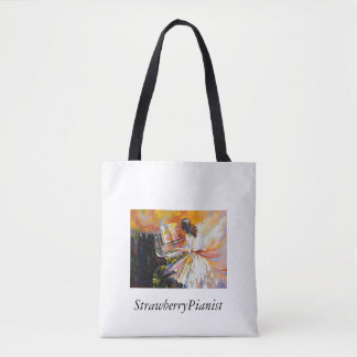 StrawberryPianist Tote Bag