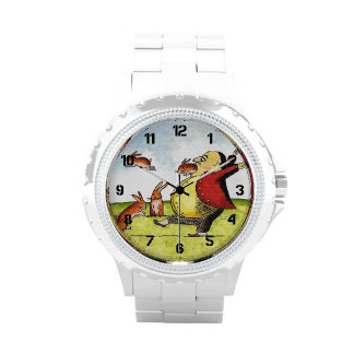 Stray Hares Wrist Watches