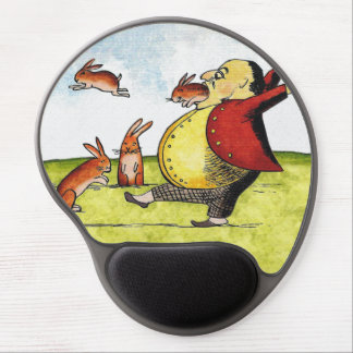Stray Hares Gel Mouse Mats