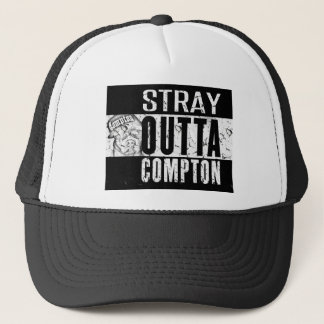 STRAY OUTTA COMPTON TRUCKER HAT