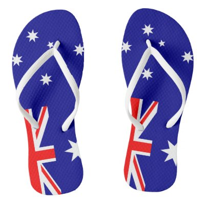 ea7a381daedd Kids Australia Map Thongs