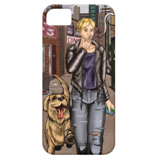 Strays - Taryn and Dog Case For The iPhone 5