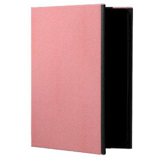 Streaked Pink Leather Grain Look Powis iPad Air 2 Case
