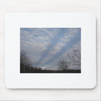 Streaks in the Clouds on a Fall Day Mouse Pad