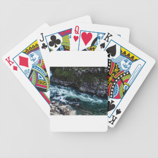 stream of emerald waters bicycle playing cards