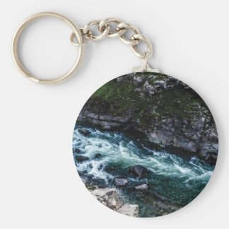 stream of emerald waters key ring
