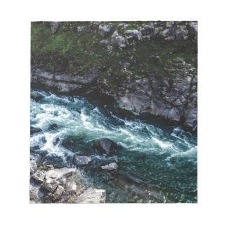 stream of emerald waters notepad