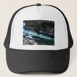 stream of emerald waters trucker hat