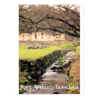 stream, Port Arthur, Tasmania Postcard