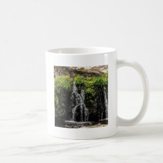 stream trickle falls coffee mug
