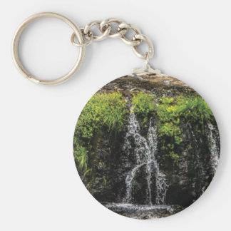 stream trickle falls key ring