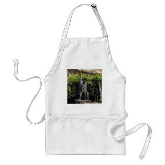 stream trickle falls standard apron
