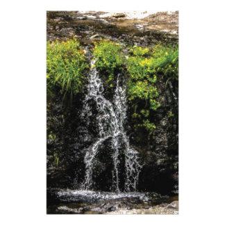 stream trickle falls stationery