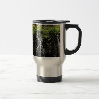 stream trickle falls travel mug