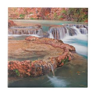 Stream Waterfalls Ceramic Tile