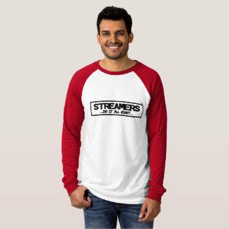 Streamers Canvas Long Sleeve Raglan T-Shirt