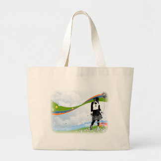streamers large tote bag