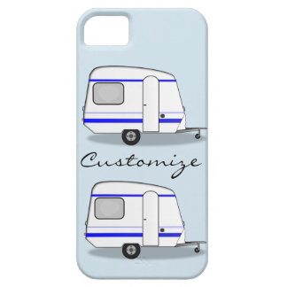 Streamlined small trailer gypsy caravan case for the iPhone 5