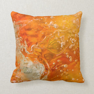 Streams of Consciousness Abstract Throw Pillow
