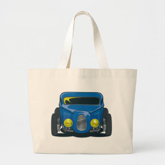Streed Rod Blue Tote Bags