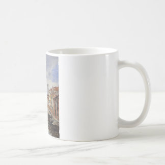 Street, Antibes by Eugene Boudin Coffee Mug