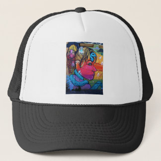 street art 1 trucker hat