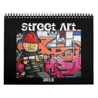 street art 2015 wall calendar