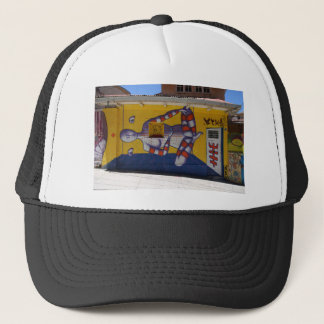 street art 3 trucker hat