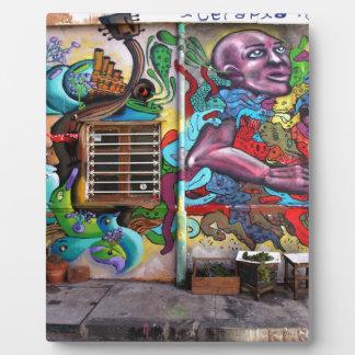 street art 8 plaque