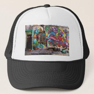 street art 8 trucker hat